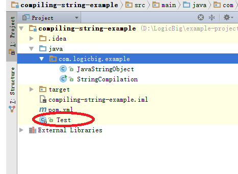 Java Compiler API - Compile Code to a File and Load it using