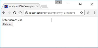 Java Servlet - URL redirection