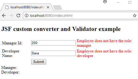 JSF - Using Custom Converter and Validator for the same Input component