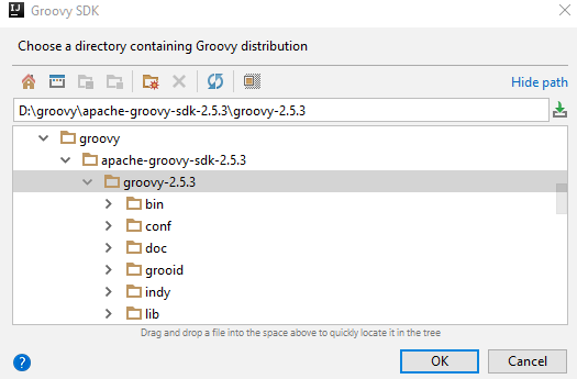 Groovy with Intellij