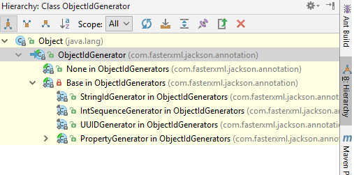Jackson JSON - Using @JsonIdentityInfo to handle circular