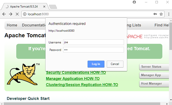 Installing and setting up Apache Tomcat Server