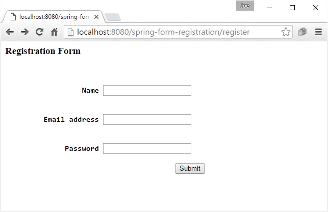 Spring MVC - Prevent duplicate form submission