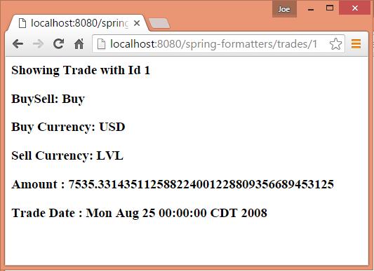 Spring MVC - @InitBinder DateFormatter NumberStyleFormatter